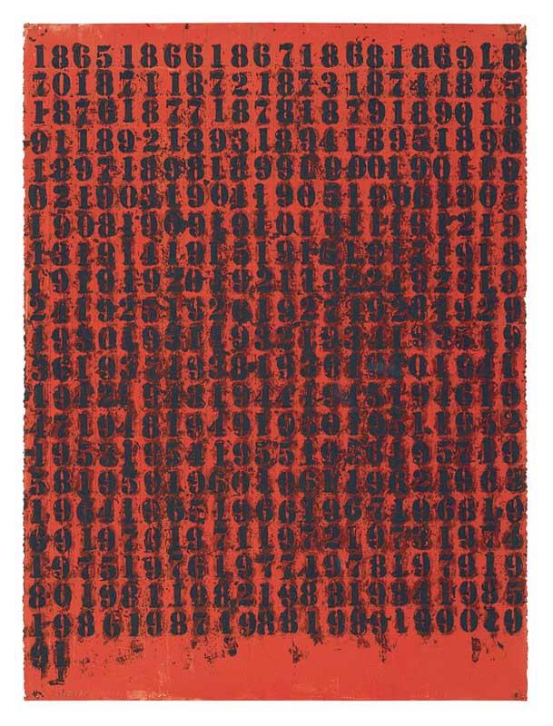 Untitled (1776 - 1865), 1991