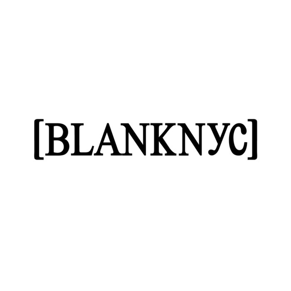 BLANKNYC Since exploding onto the scene in 2007 with the signature Studded Skinny Classique jeans, [BLANKNYC] has been creating approachable clothing in obsession-worthy fits, fabrics and design.  The Manhattan-born brand couples aggressively modern silhouettes with the integrity of premium quality—a mash-up of stretch denim, vegan leather, plush knits and industrial hardware transform minimalist basics into runway relevance.