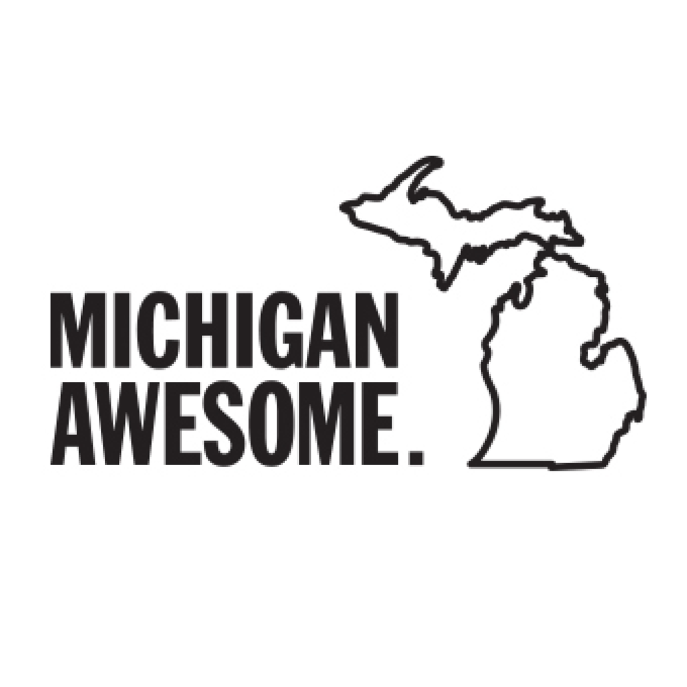 MICHIGAN AWESOME Michigan Awesome is a celebration of state pride and hometown love. Based in Holland, Michigan, we are proud to offer high quality products to Michiganders in our home state, across the country, and around the world.  Join us in celebrating the land shaped like a hand. Because it's good to be where you're from.