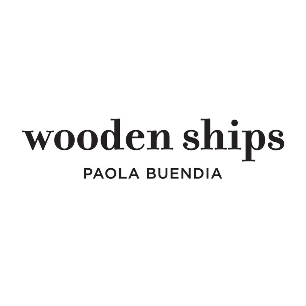 WOODEN SHIPS Colombian-born designer Paola Buendía and her husband, Mark Donovan, founded wooden ships in 1992. The couple met as undergraduates at Harvard. Spurred by a four-month trip to Bali, they founded the company two years after graduation.