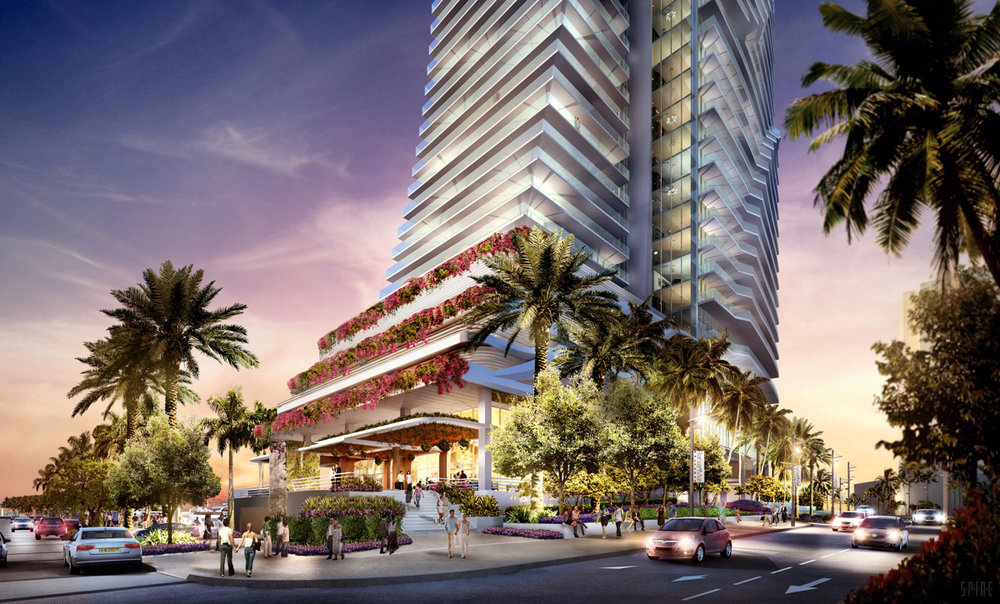 New rendering of Bahia Mar (Credit NBWW)