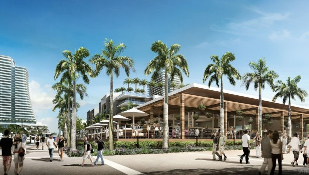 Rendering of Bahia Mar (Credit NBWW)