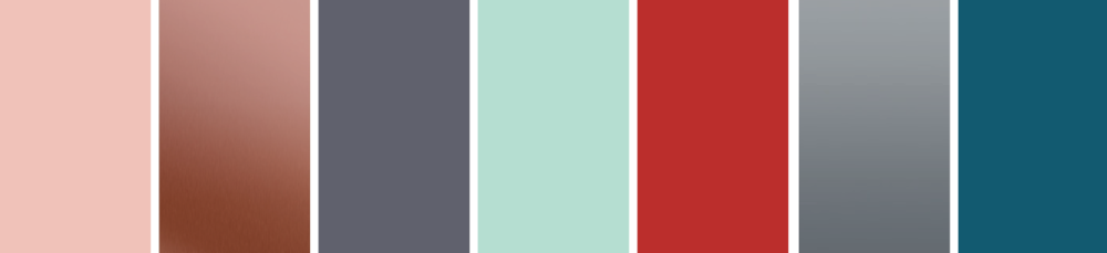 Industrial Tactility Colour Palette