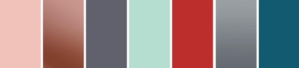 Industrial Tactility Colour Palette