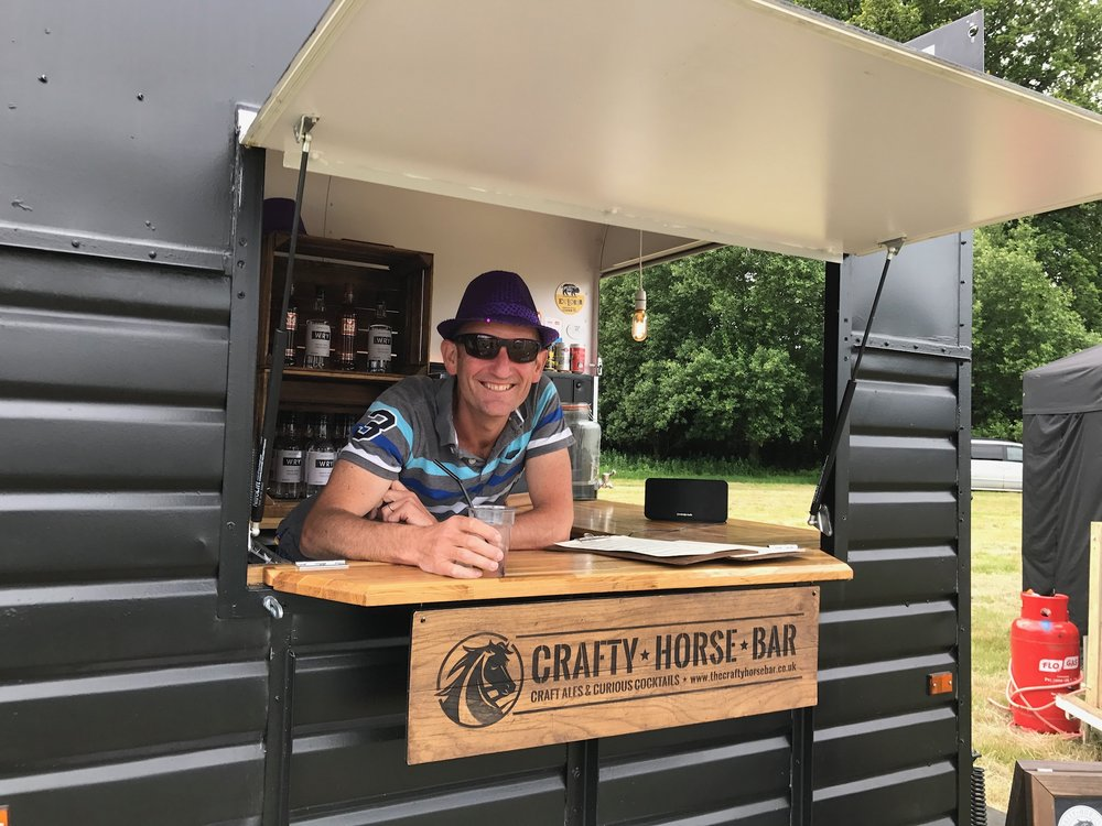 The Crafty Horse Festival Bar