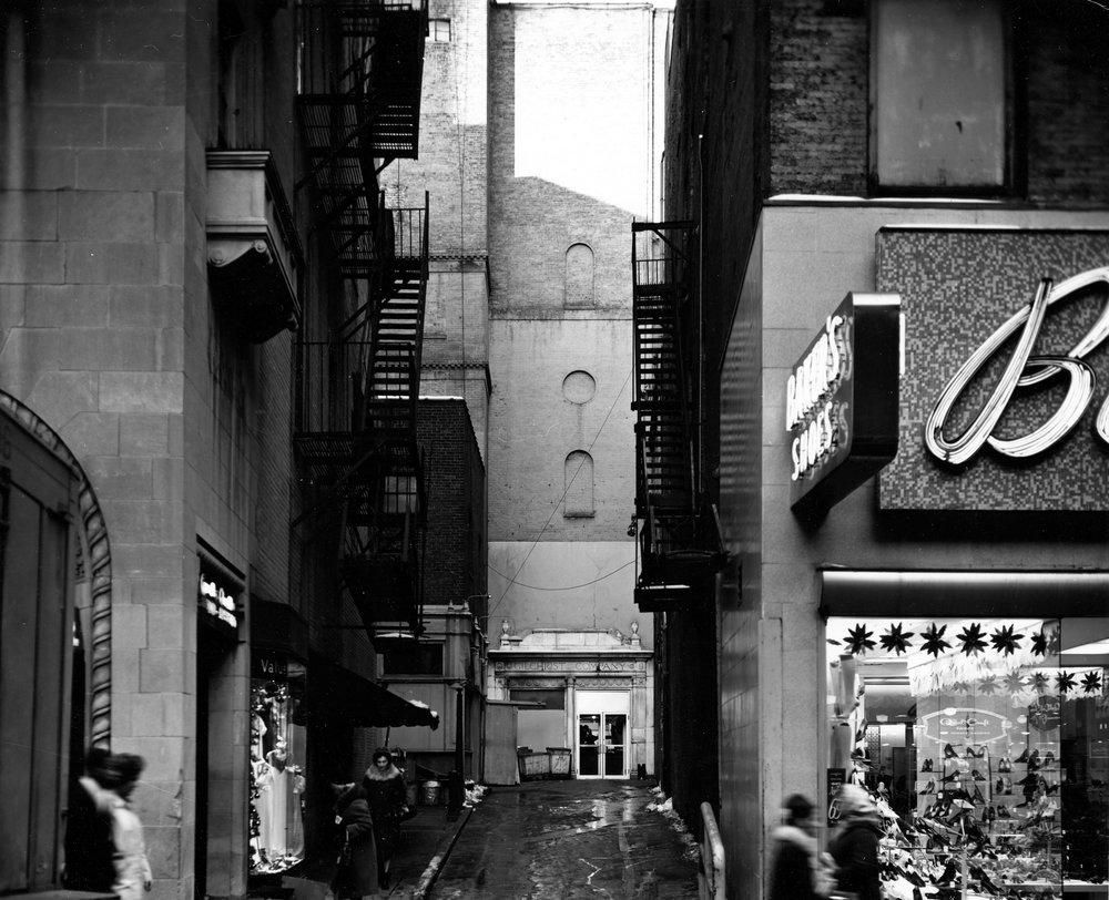 Winter Street Alley