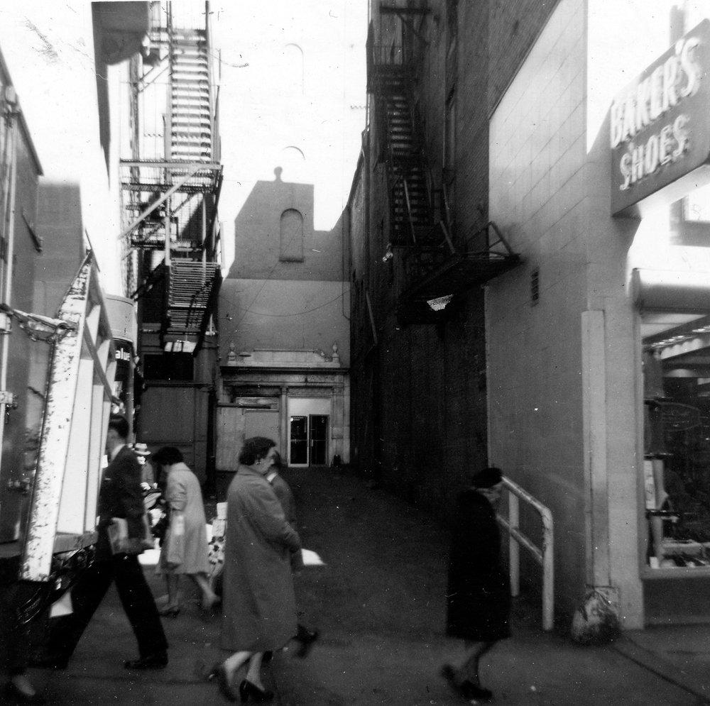 Winter Street Passerbys