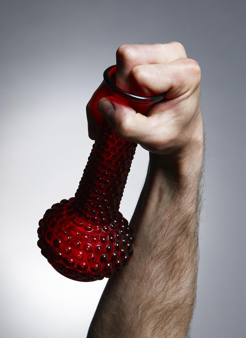 "Handle (2009), chromogenic print; 55"" x 40"""