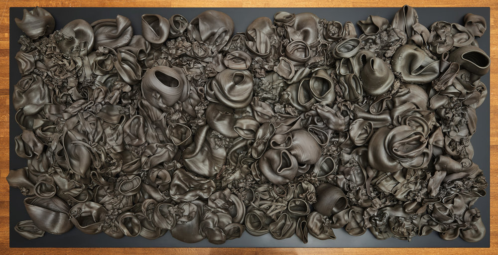That, There, It  (2015) ceramic; 4' x 8' x 1.5'  National Gallery of Canada, Ottawa / Musée des beaux-arts du Canada, Ottawa  Photo: NGC /MBAC