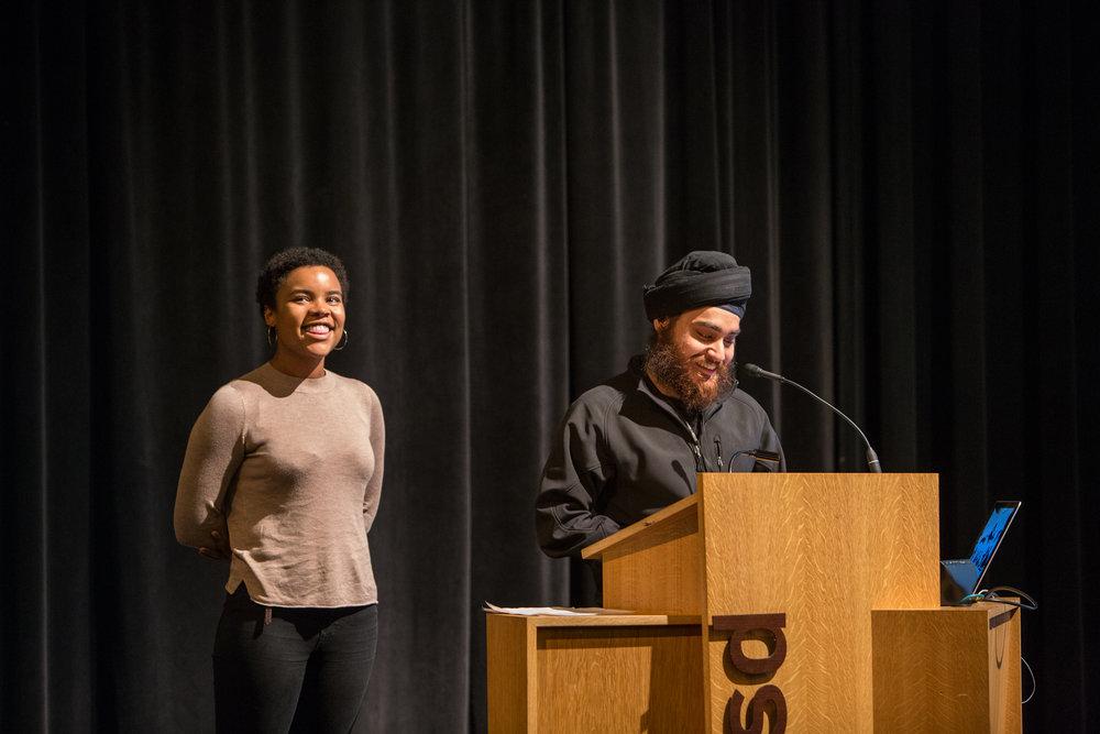 Kelly Mitchell and Jagdeep Raina. Photo: Jo Sittenfeld/RISD Media