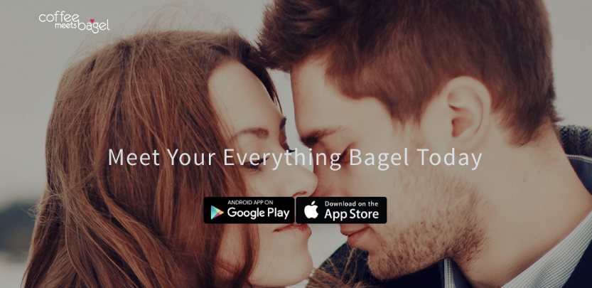 Coffee Meets Bagel dating app proposed by the author as proof of bagel ubiquity