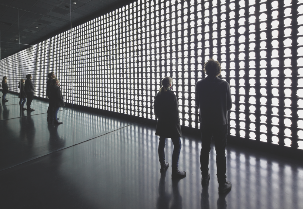 Alfredo Jaar,  The Geometry of Conscience , 2010. Museo de la Memoria, Santiago de Chile. Image courtesy the artist.