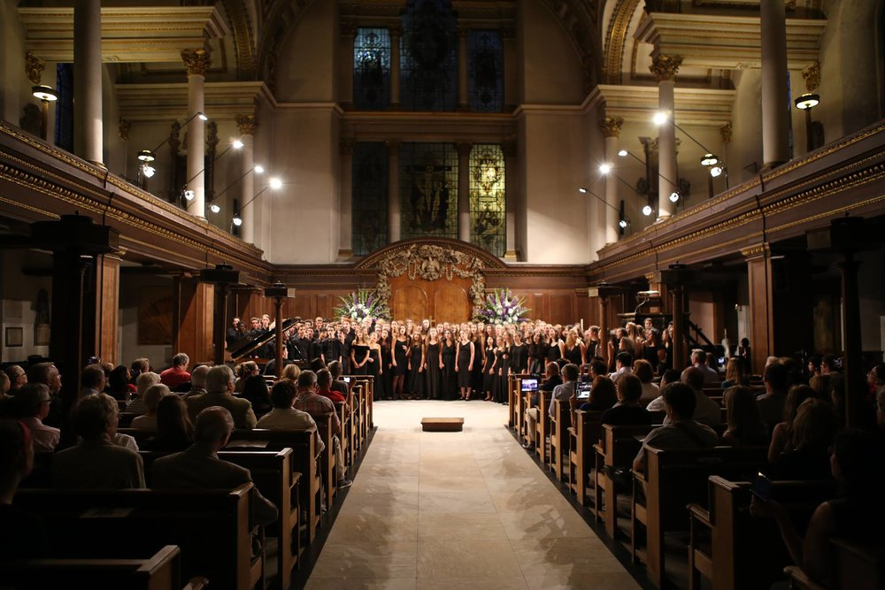Finale of the Ingenium Academy Concert, St James's Picadilly