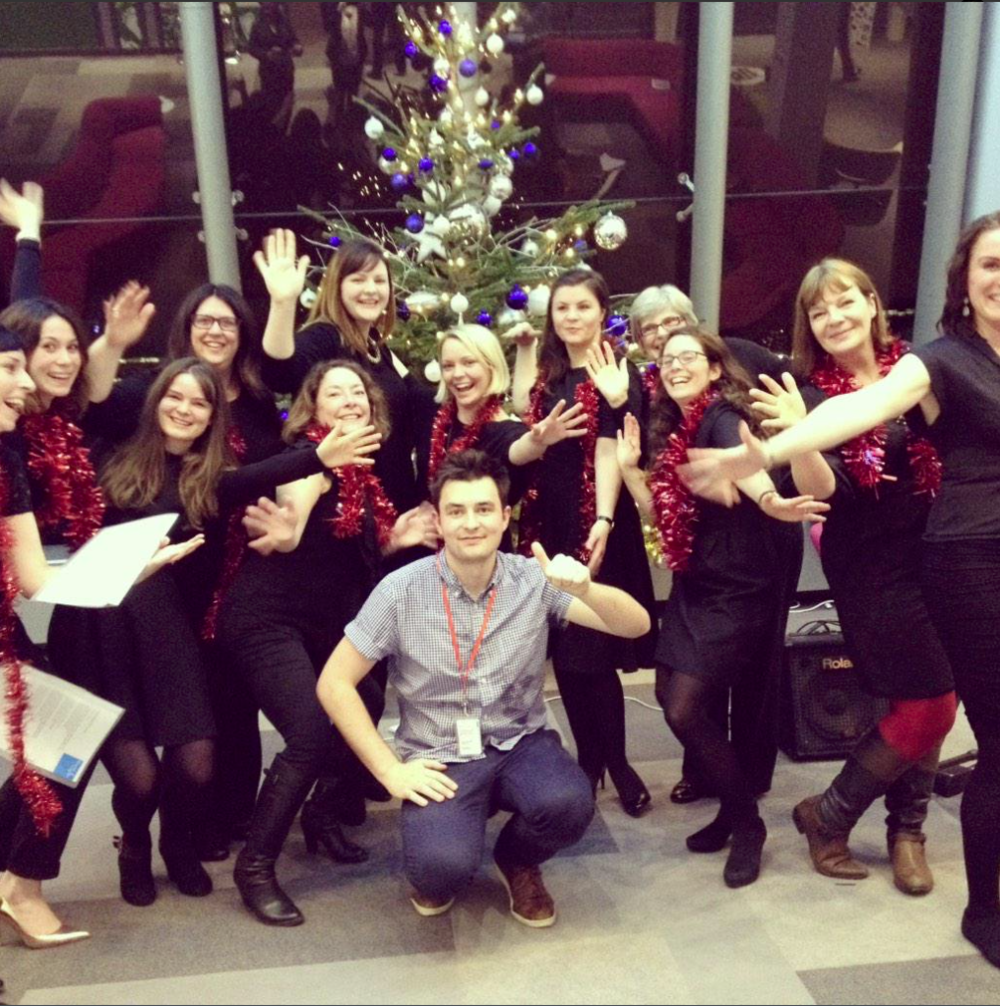 BUPA Head Office Choir