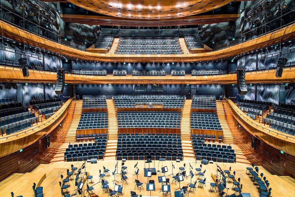 Music Hall. Katowice, Silesian, Poland. Photography by  Radek Grzybowski .