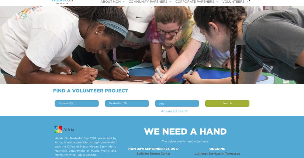 HON homepage
