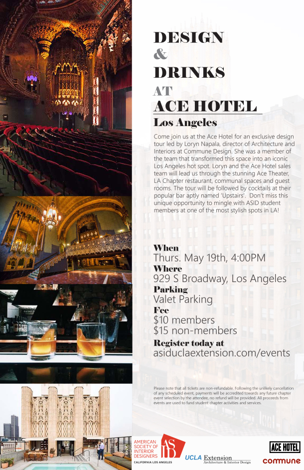 Fabulous Event Of The Month Asid Ucla Extension Download Free Architecture Designs Grimeyleaguecom