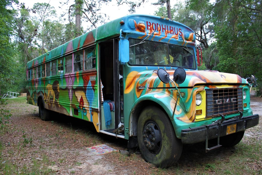 Wayne is our 1972 Conversion Bus.