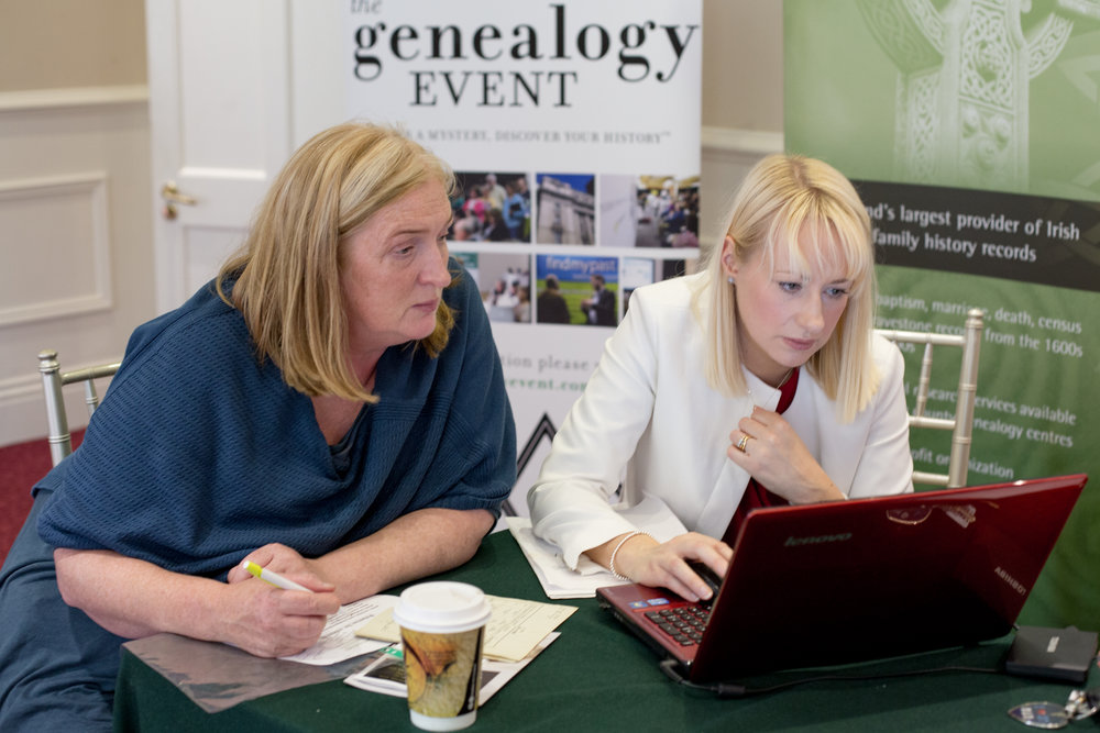 One on one consultations with genealogy expert, Catriona Crowe of Limerick Genealogy.