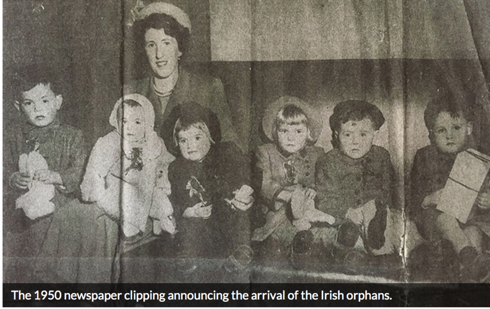 Research Project Article: Irish Nurse & Six Irish Orphans