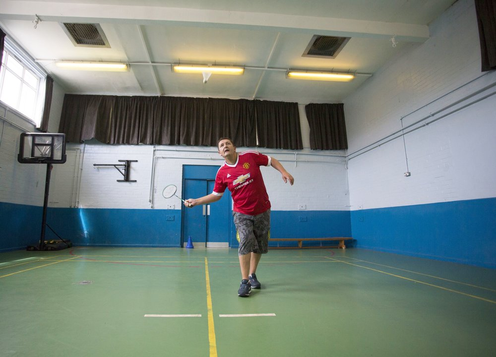 Badminton social activities at The Well