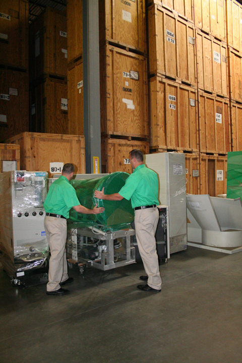 When storing your inventory with our Warehouse Distribution Center (located in St Louis, MO)we go the extra mile with our warehouse services to protect your assets, giving you the confidence you need to store and house your goods until you are ready to distribute them.