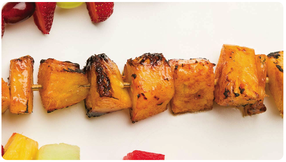 pineapple skewers recipe