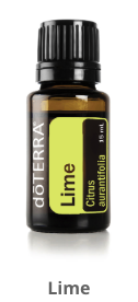 lime essential oil do terra