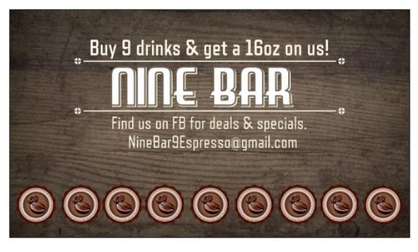 Nine Bar -