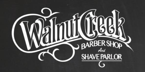 Barber Shop Services Price List Menu