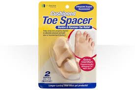 Toe spacer for pressure relief