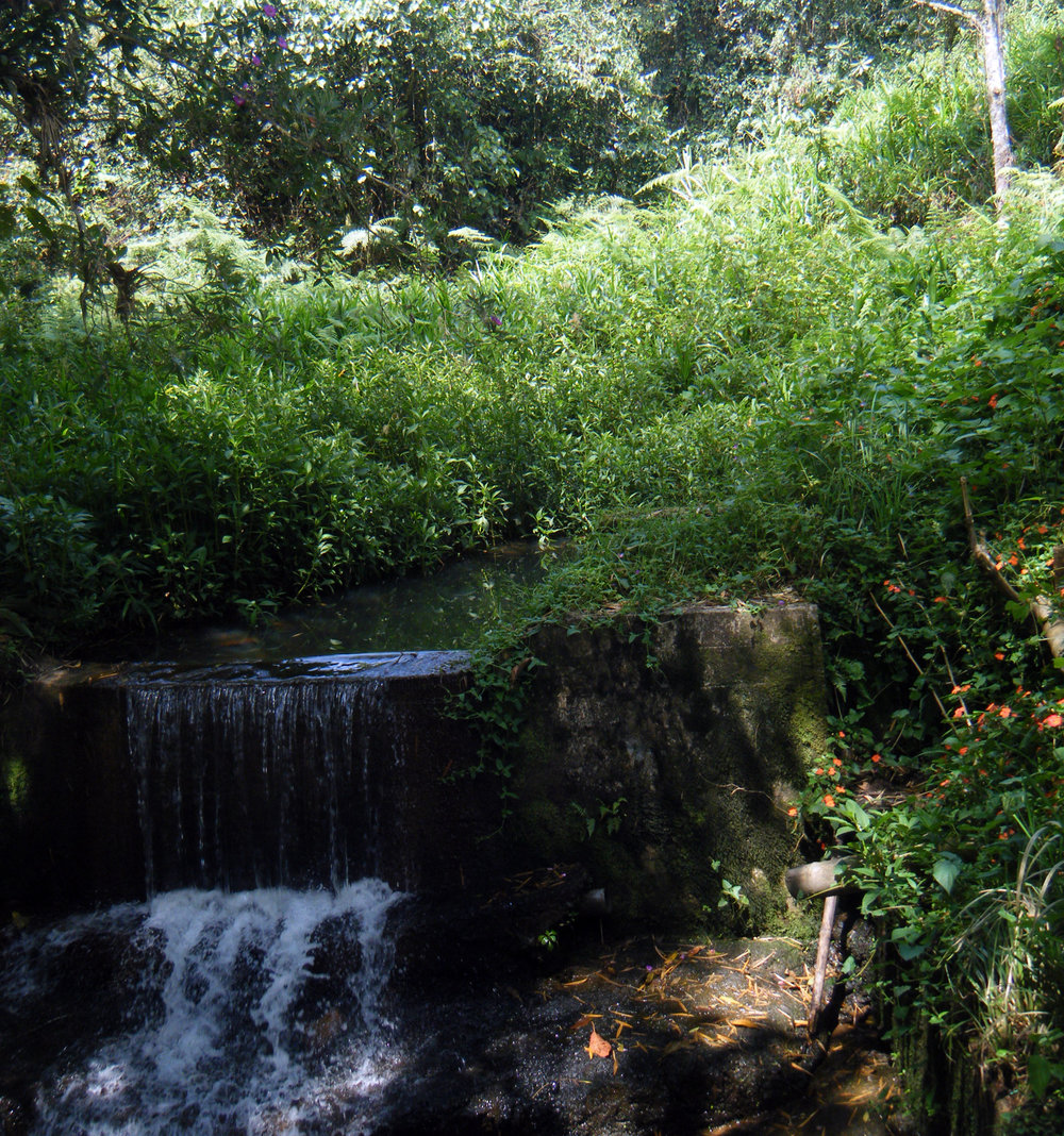 waterfall near ancient fountain.jpg