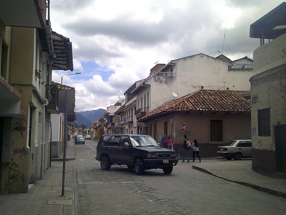 Cuenca's colonial district April 2017.jpg