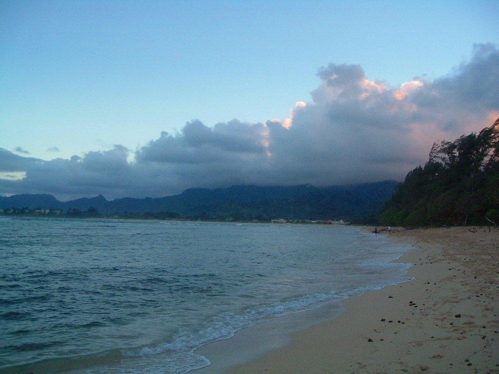 malaekahana at sunset.JPG