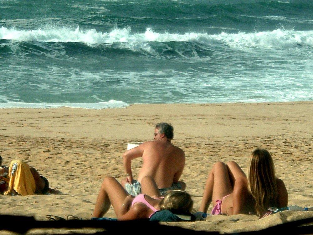 hotty at sunset beach.JPG