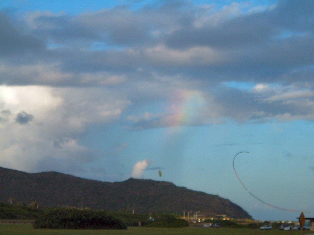 sandy beach park kites and rainbow.jpg