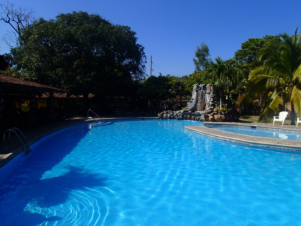 Hotel El Tejado pool.jpg