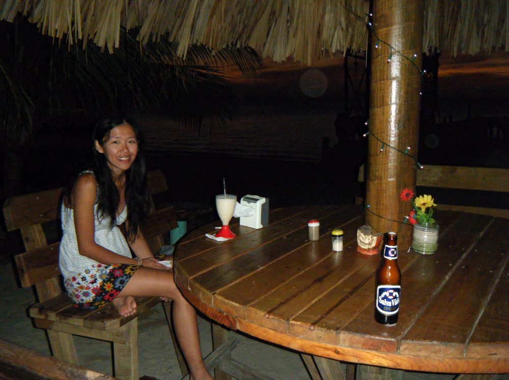 Pei-Ciao in the palapa.jpg