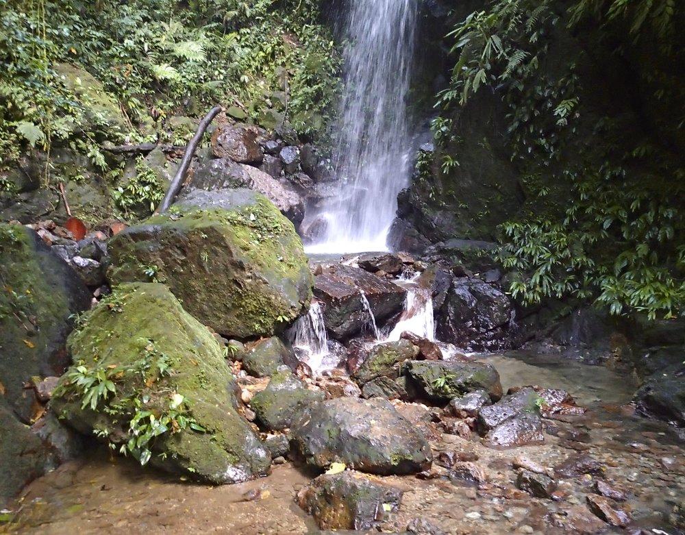 waterfall at Cerro Azul-Meambar NP 12-21-13.jpg