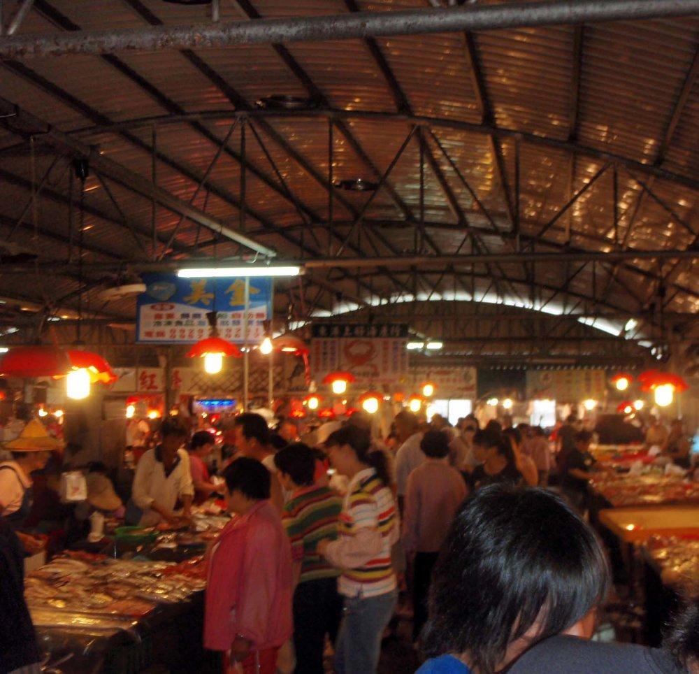 Donggang fish market!.jpg