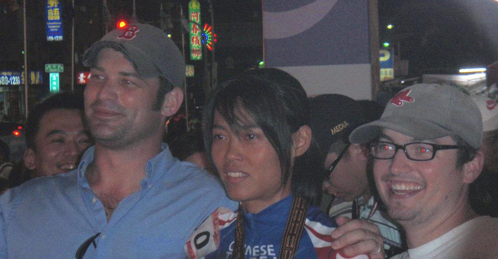 Adam, gold medalist, and Rip.jpg