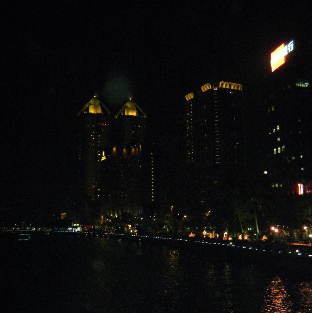 Love River at night.jpg