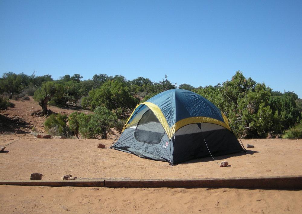 Dead Horse State Park camp site.jpg