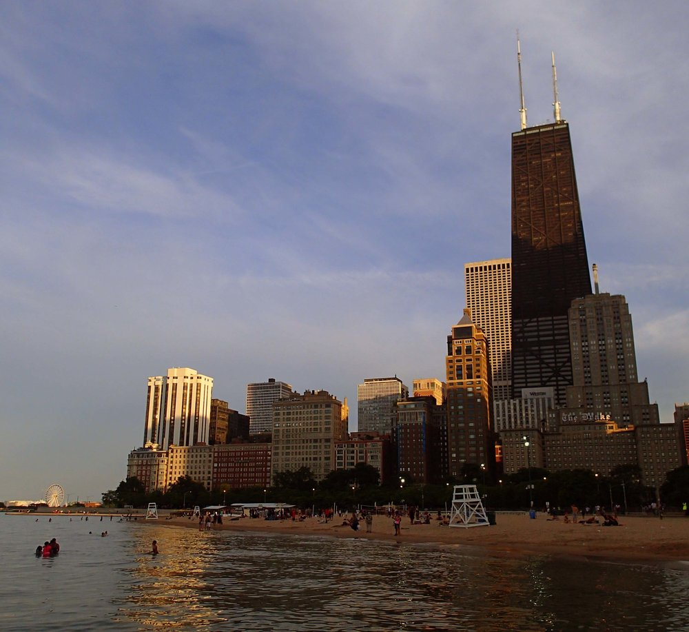 Chicago skyline from beach.jpg