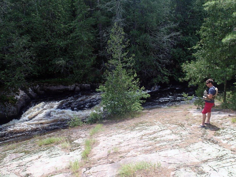 Dave at the falls.jpg