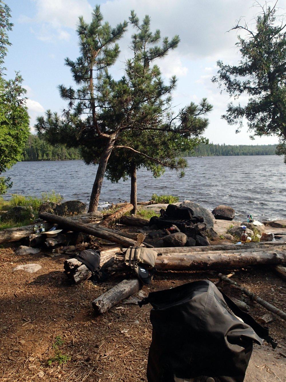 Agnes Lake campsite.jpg