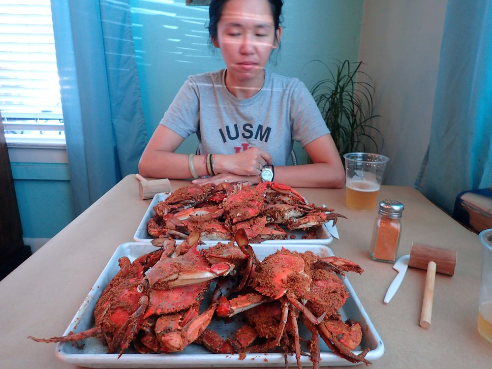 first crabs of the year.jpg