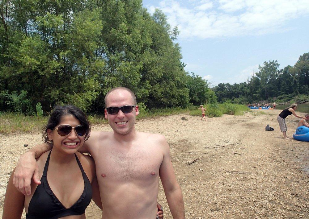 Lisha and Matt at Bogue Chitto River.jpg