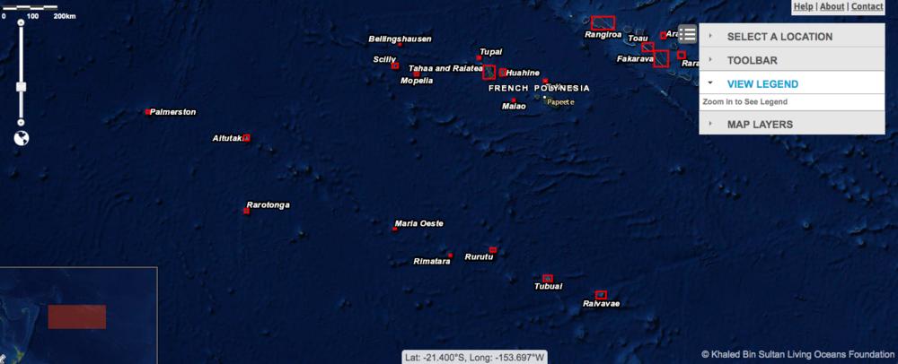 Please go  here  for high-resolution habitat maps of the five islands/atolls surveyed in the Austral Islands: Raivavae, Tubui, Rurutu, Rimatara, and Maria.