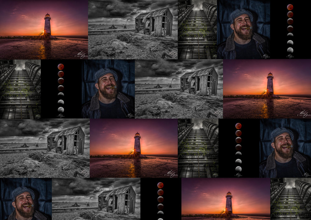 Projects - A touch of colourlighthousetrue gritsuper wolf blood moondungeness